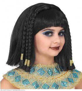 Cleopatra Pruik Met Veel Vlechtjes