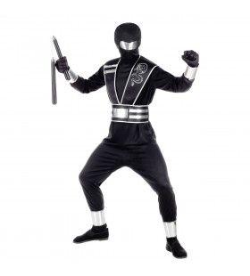 Sneller Dan Zijn Schaduw Ninja Jongen Kostuum
