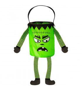 Trick Or Treat Tasje Groen Monster