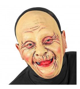 Masker Oude Vrouw Vol Rimpels