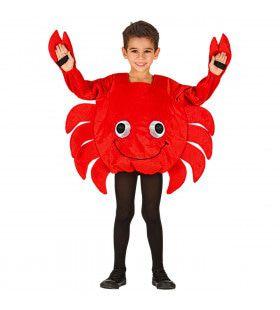 Vrolijke Kijkende Krab Noordzee Kind Kostuum