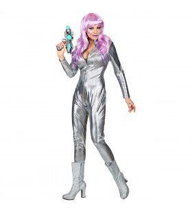 Space Girl Barbarella Ruimte Vrouw Kostuum