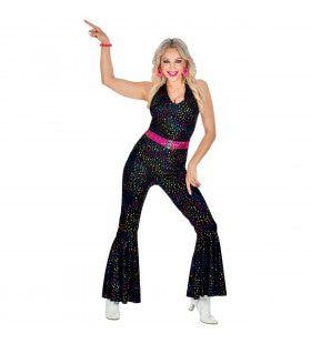 Disco Glitter 70s Vrouw Kostuum