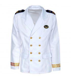 Jas Kapitein Passagiersschip Luxe Cruise Man