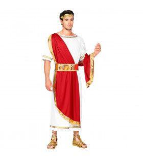 Romeinse Keizer Cornelius Taurus Man Kostuum