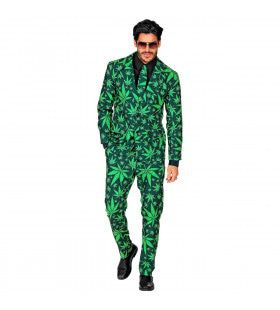 Cannabis Nederwiet Man Kostuum