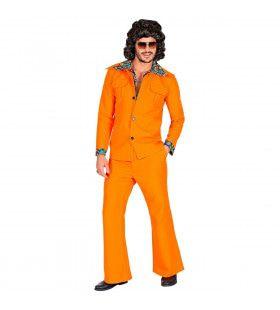 Oranje 1974 Stijl Man Kostuum