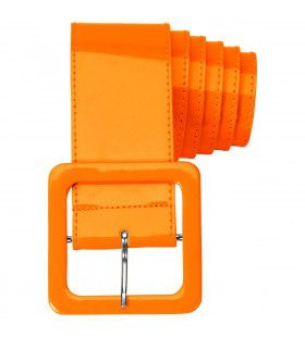 Neon Oranje Riem Vinyl