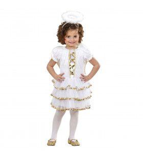 Glamour Engel Rechtstreeks Uit De Hemel Meisje Kostuum