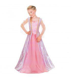 Prachtige Prinses Priscilla Meisje Kostuum