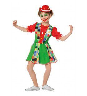 Funky Funk Clown Meisje Kostuum