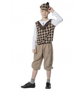 Straatjochie Geruit Jongen Kostuum
