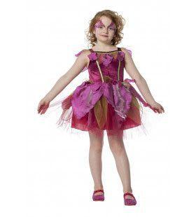 Bloemig Feetje Cyclaam Meisje Kostuum