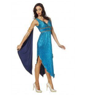 Goddelijke Griekse Andromeda Vrouw Kostuum