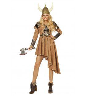 Vinnige Viking Vrouw Kostuum