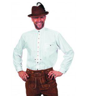 Tirools Hubsch Hemd Wit Man