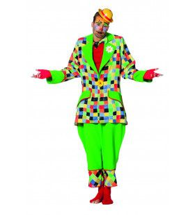 Funky Funk Clown Man Kostuum