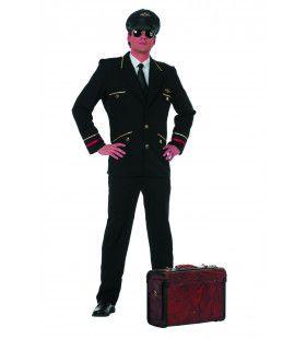 Schiphol Piloten Jas, Zwart Man