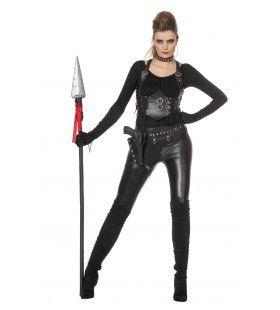 Ongrijpbare Ninja Set Zwart