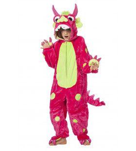 Monsterlijk Lief Monster Roze Kostuum