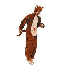 Reuzesprong Kangoeroe Man Kostuum
