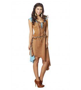 Indiaanse Arapaho Vrouw Kostuum