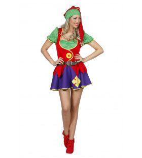 Stoute Kabouter Vrouw Kostuum