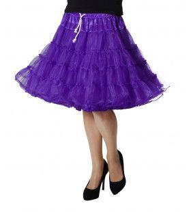 Petticoat Swing Luxe Paars