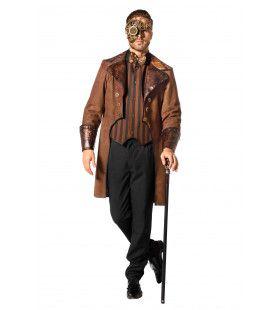 Steampunk Snake Man Kostuum