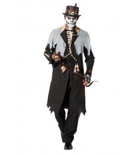 Voodoo Koning Haiti Man Kostuum