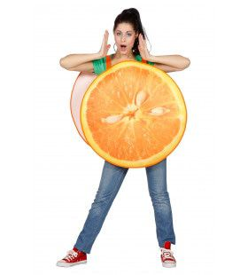 Sappige Sinaasappel Kostuum