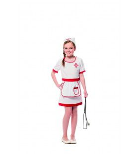 Zuster Verpleeghuis Suzanne Meisje Kostuum
