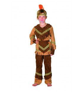 Heldhaftige Havik Indiaan Nebraska Kostuum