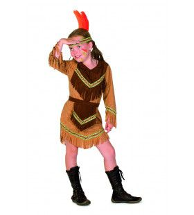 Spiedende Uil Indiaan Kentucky Meisje Kostuum