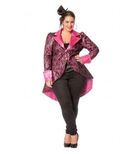 Venetiaanse Adel Jas Roze Vrouw