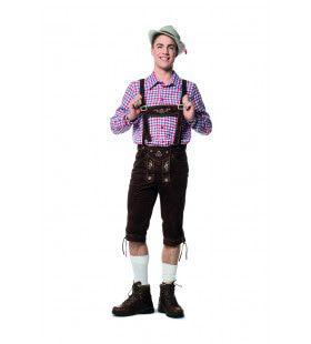 Heinz Hijsen Lederhose Man