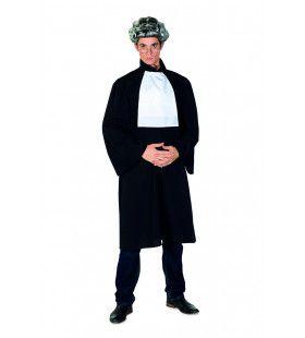 Rechter Julius Justitius Man Kostuum