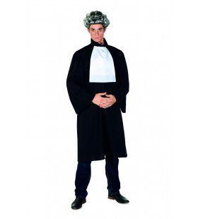 Rechter Julius Justitius Zwart Man Kostuum
