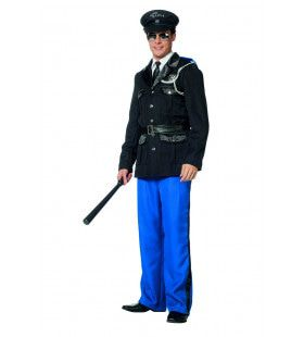Politie Marechaussee Uniform Man Kostuum
