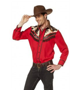 Stoere Linedance Country Cowboy Blouse Man