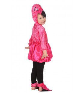 Andes Flamingo Fel Roze Meisje Kostuum