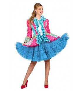 Musical Theater Petticoat Luxe Aqua Vrouw
