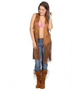 Vest Hippie Cowgirl Kalme Westen Vrouw