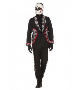 Keurig Begraafplaats Day Of The Dead Man Kostuum
