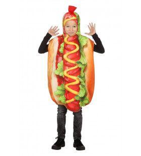 Hotdog Met Extra Veel Mosterd Kostuum