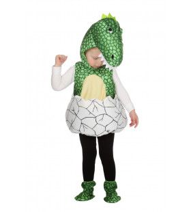 Dino In Ei Jurassic Parc Kind Kostuum