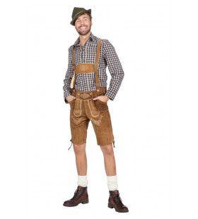 Hemd Anton Aus Tirol Bierfeest Zwart Man