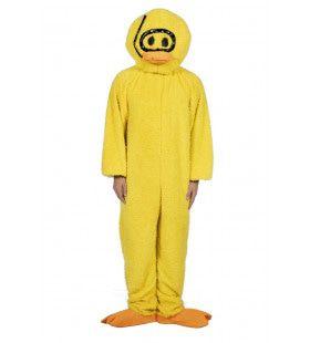 Pluche Gele Badeend Kostuum