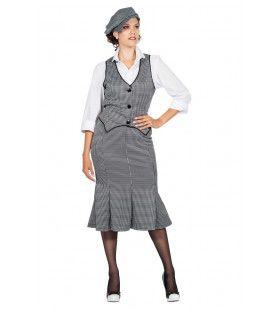 Set Roaring 20s Polly Eastender Vrouw Kostuum