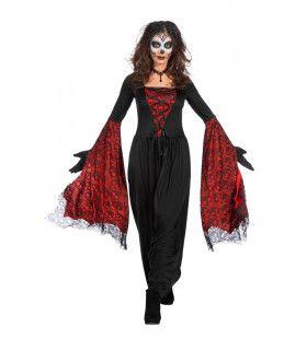 Vleermuisjurk Cruella De Los Muertos Vrouw